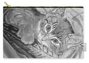 Tabby Kitten Carry-all Pouch