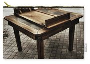 Table That Thought. This Beautiful Carry-all Pouch