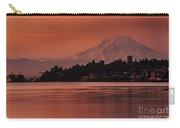 Tacoma Bay Mount Rainier Sunrise Carry-all Pouch