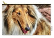 Taffy Collie Carry-all Pouch