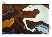 Taffy Horses Carry-all Pouch