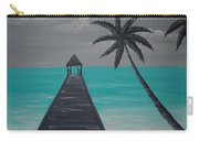Tahitian Blue Carry-all Pouch