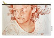 Tahitian Girl Carry-all Pouch