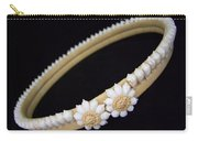 Tahitian Sea Shell Haku Carry-all Pouch