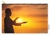 Tai Chi At Sunset Carry-all Pouch