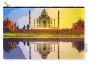 Taj Mahal At Sunrise Carry-all Pouch