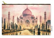 Taj Mahal Carry-all Pouch by Mo T