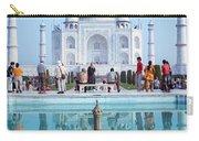 Taj Mahal  Carry-all Pouch by Nila Newsom