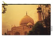 Taj Mahal Sunset Carry-all Pouch