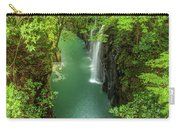 Takachiho George Waterfall In Miyazaki, Japan Carry-all Pouch