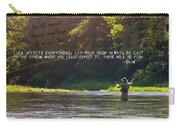 Take Me Home Quote Carry-all Pouch