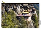 Taktsang Monastery  Carry-all Pouch by Fabrizio Troiani