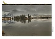 Talbot Lake Stormy Panorama Carry-all Pouch