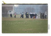 Talking After The Volleyball Game Carry-all Pouch