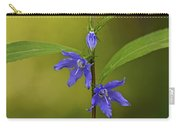 Tall Bellflower Carry-all Pouch