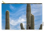 Tall Cacti Carry-all Pouch