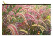 Tall, Colorful, Whispy Grasses In The Sumer Breeze Carry-all Pouch