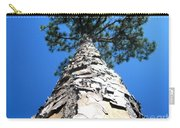Tall Pine Tree In Summer Carry-all Pouch