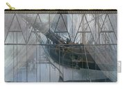 Tall Ship Through A Window Carry-all Pouch
