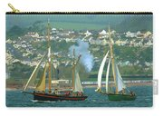 Tall Ships And Steam Trains Carry-all Pouch