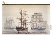 Tall Ships Carry-all Pouch by James Williamson