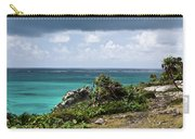 Talum Ruins Mexico Ocean View Carry-all Pouch
