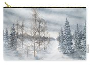 Tamarack Swamp In Winter 2  Carry-all Pouch