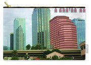 Tampa From The River Tote Carry-all Pouch