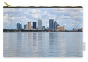 Tampa Skyline Over The Bay Carry-all Pouch