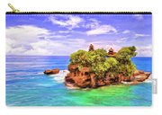 Tanah Lot Temple Bali Carry-all Pouch