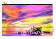 Tanah Lot Temple Sunset Bali Carry-all Pouch