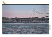 Tanana River With Pipeline - Early Morning Carry-all Pouch