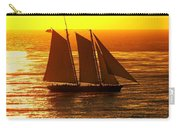 Tangerine Sails Carry-all Pouch
