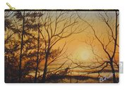 Tangerine Sky Carry-all Pouch