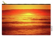 Tangerine Sunset Carry-all Pouch
