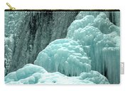 Tangle Falls Frozen Blue Cascades Carry-all Pouch