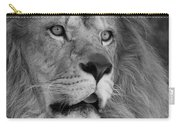 Tango #2 Black And White Carry-all Pouch