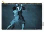 Tango In Blue Carry-all Pouch