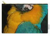 Tango, The Blue And Gold Macaw Carry-all Pouch