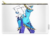 Tango Woman - Fashion Illustration Carry-all Pouch