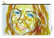 Tania Helft, Portrait Carry-all Pouch