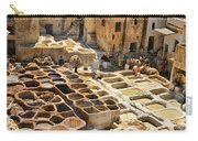 Tanneries Of Fes Morroco Carry-all Pouch