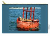 Tanning Sea Lion On Buoy Carry-all Pouch
