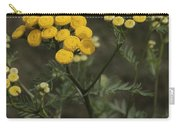 Tansy Blossoms Carry-all Pouch