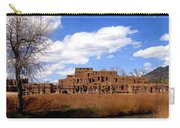 Taos Pueblo Early Spring Carry-all Pouch