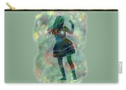Tap Dancer 1 - Green Carry-all Pouch