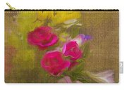 Tapestry Bouquet Carry-all Pouch