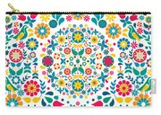 Flores Y Aves Carry-all Pouch