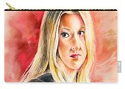 Tara Summers In Boston Legal Carry-all Pouch