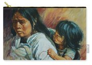 Tarascan Woman Carry-all Pouch
